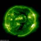 SOHO EIT 195 image of the sun