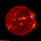 SOHO EIT 304 image of the sun