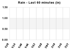 Rainfall Past 60 minutes